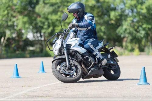Motorrijbewijspoint Weert motor rijtest